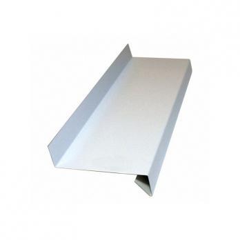 Водоотлив оконный белый (полиэстер 0,45 мм) RAL 9003, м.кв.